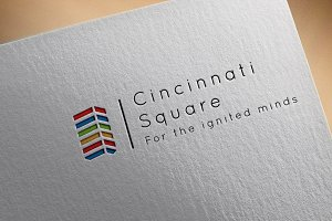 Cincinnati Square : Business Logo