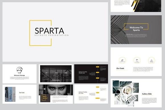 Sparta MNML Keynote Template