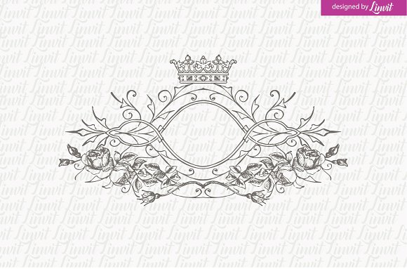 Luxury Vintage Wedding Logo