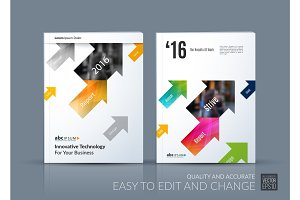 Business vector. Brochure template layout, cover modern design a