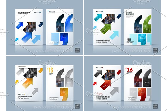 Business Vector Brochure Template Layout Cover Modern Design A