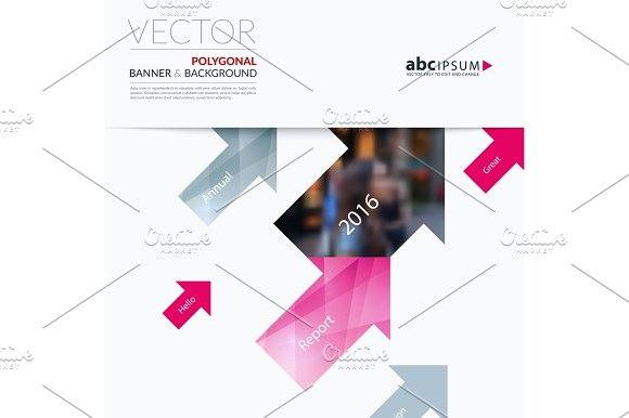 Business Vector Design Elements For Graphic Layout Modern Abstr