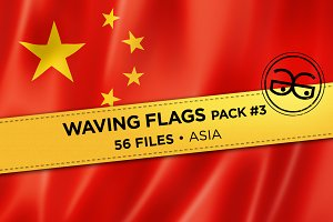Waving Flags Pack #3
