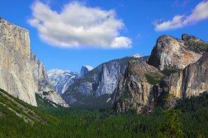 national park Yosemite