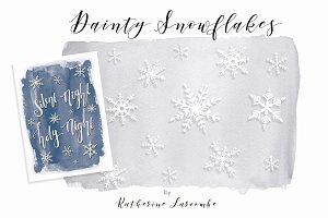Dainty Snowflakes