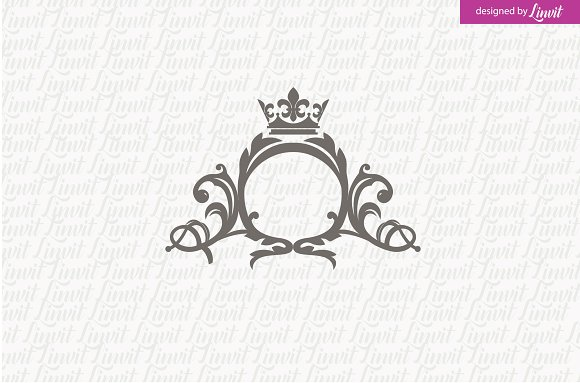 Luxury Vintage Wedding Logo