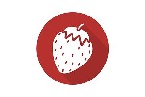 Strawberry icon. Vector