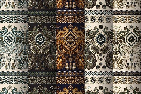 5 Border Indian Patterns