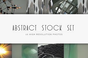 Abstract Stock Set (10 Images)