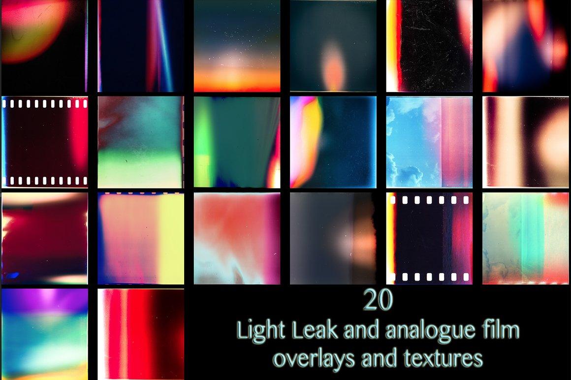 20 Light Leak Texture Overlays Textures Creative Market