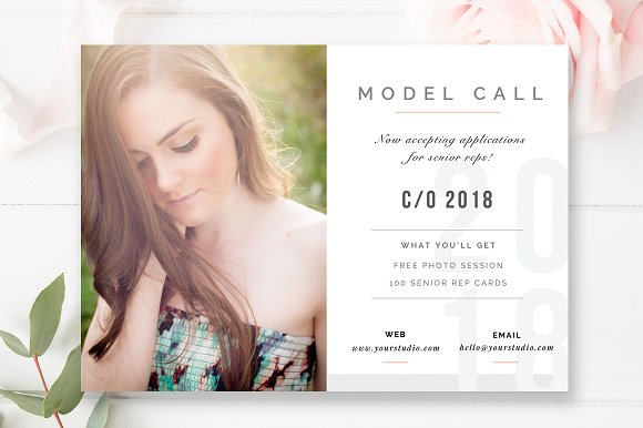 Senior Model Call Template