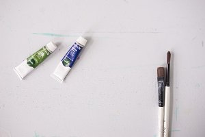 Small Paints and Brushes 2