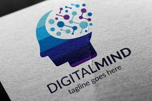 Digital Mind Logo