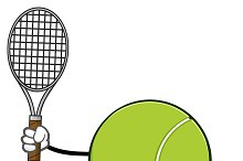 Tennis Ball Faceless Running