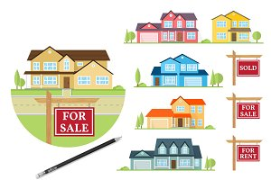 House for Sale Creation set
