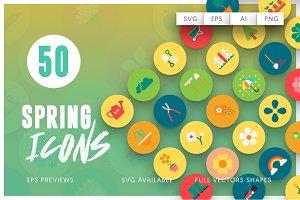 50 Spring Icons Vol.2