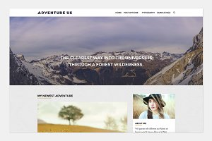 Adventure Us - Travel Blog Theme