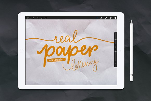 52 Real Papers For Procreate