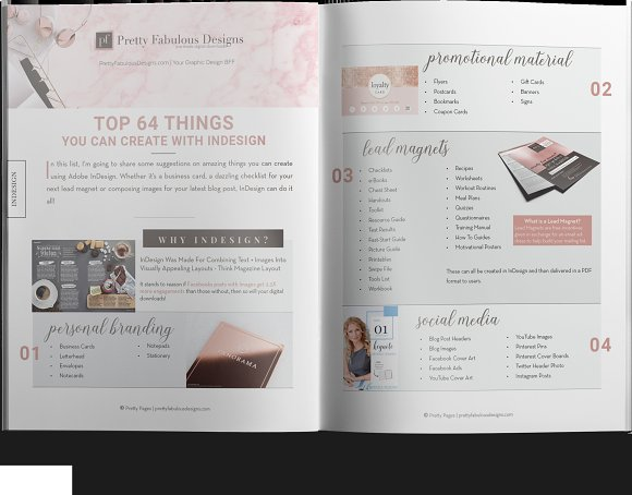 Lead Magnet List InDesign Template
