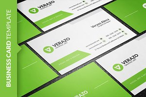 Clean & Fresh Business Card Template