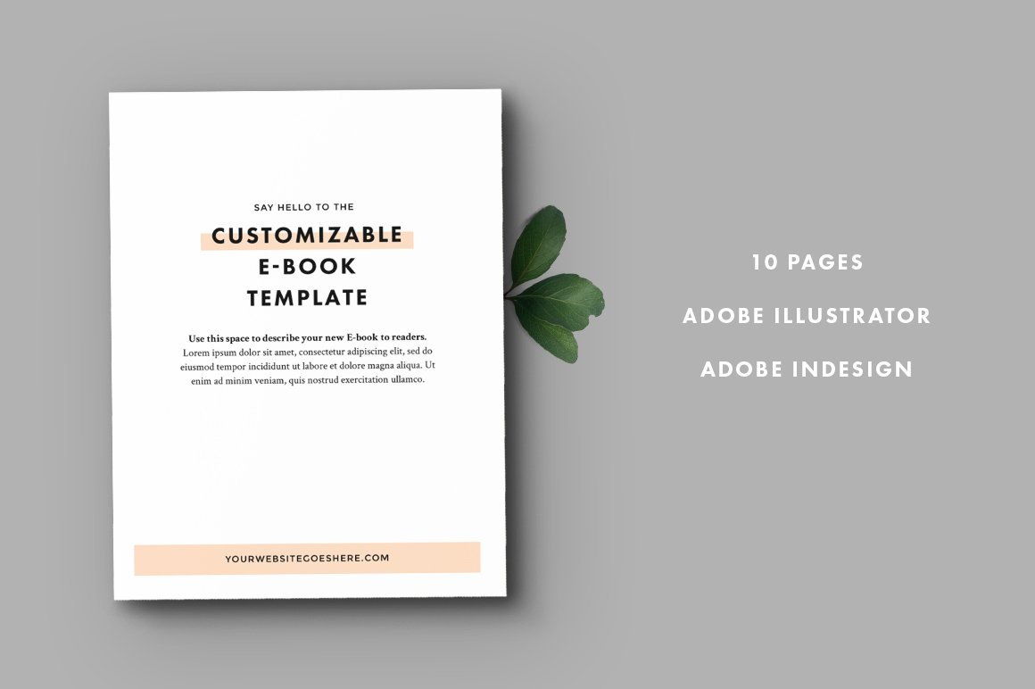 Ebook Template ~ Templates ~ Creative Market