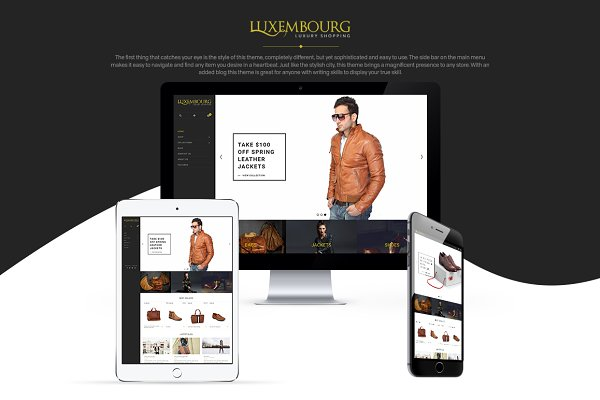 Luxembourg Shopify Theme - Apparel