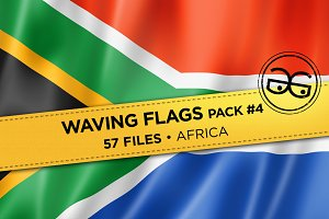 Waving Flags Pack #4