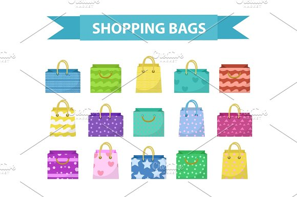 Cute Shopping Bag Set