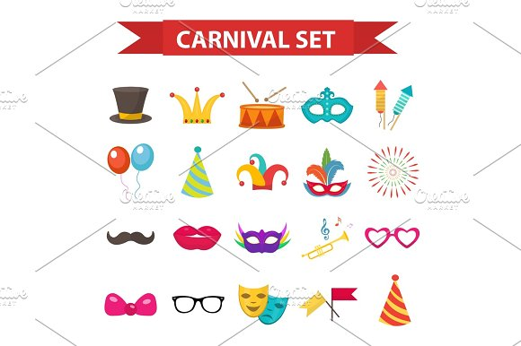 Party Carnival Icons