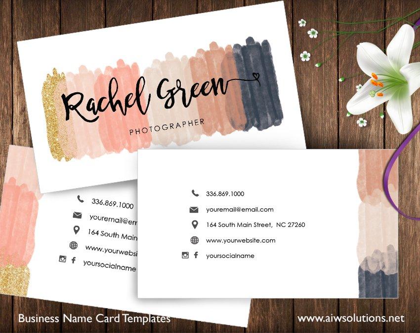 Name Card id31 Business Card Templates Creative Market – Name Card