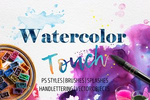 Big Watercolor Touch Kit