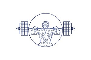 Strongman Lifting Weight Mono Line
