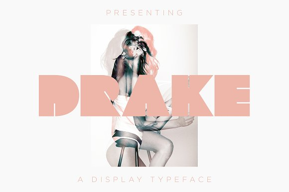 DRAKE A Display Font