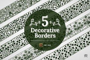 5 Decorative Borders