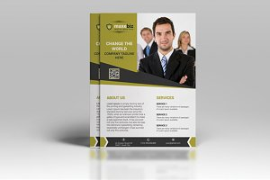 The First Corporate Flyer Template