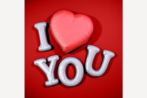 Message Love You.