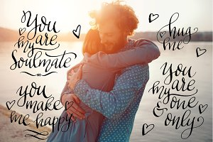 26 Calligraphic Love Quotes + Bonus