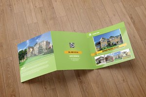 Brochure for real estate company-V58