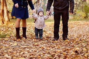 Happy Family Resting