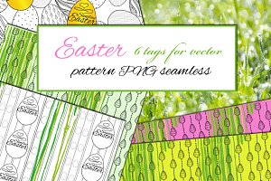 Easter Pattern and Tags