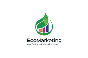 Eco Marketing Logo Templae