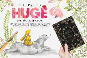 The Pretty Huge Spring Creator