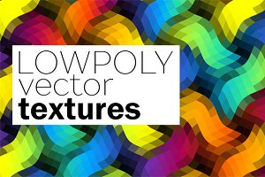 10 seamless lowpoly textures