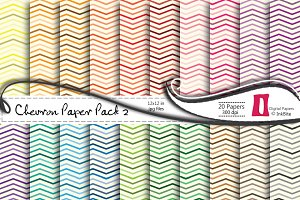 Chevron 2 Digital Paper Pack