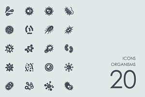Organisms icons
