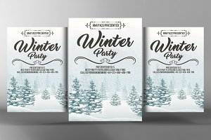 Winter Festival Flyer / Poster