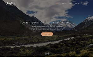 Intellect Responsive One Page Theme