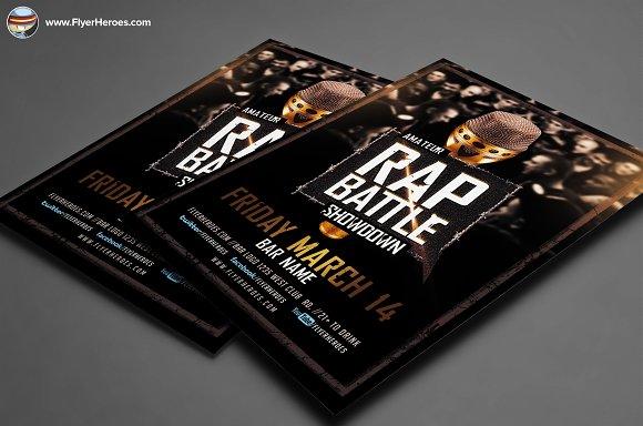 Rap Battle Showdown Flyer Template Flyer Templates on Creative – Showdown Flyer Template