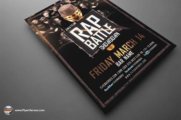 Showdown 2 Flyer Template 7071188 Free Download Photoshop – Ufc Flyer Template