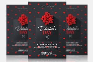 Valentine's Day - Psd Invitation